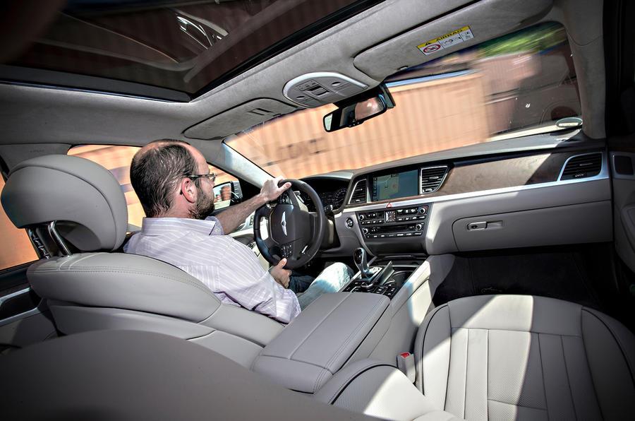 Driving the Hyundai Genesis