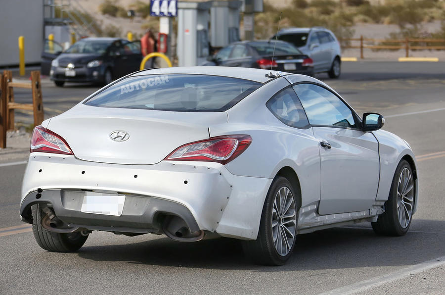 New Hyundai Genesis Coupé