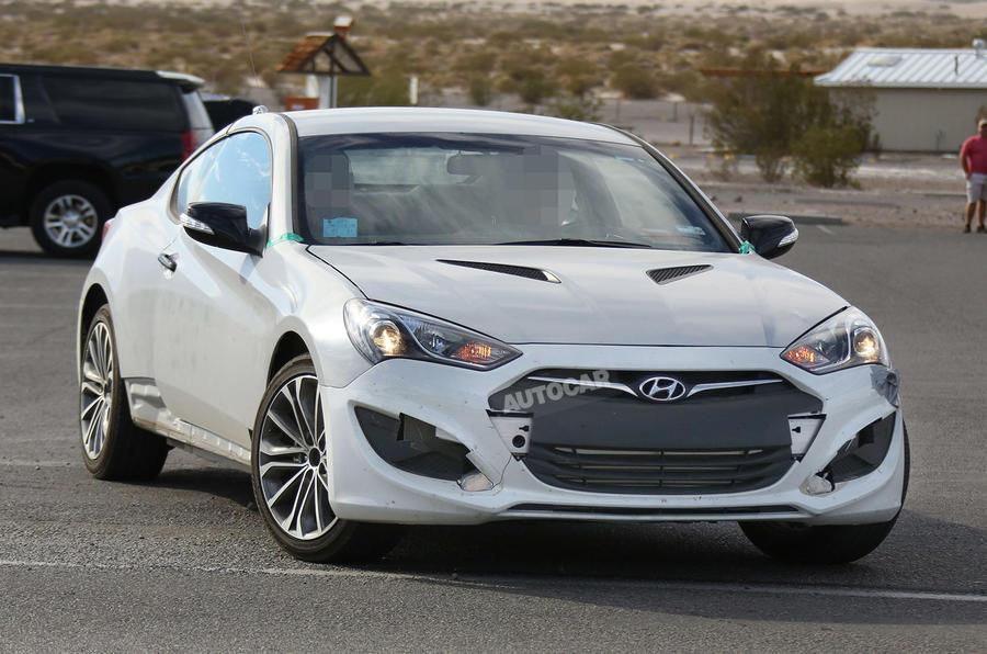Nice New Hyundai Genesis Coupé