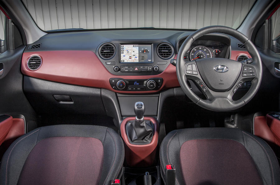 Hyundai i10 interior | Autocar