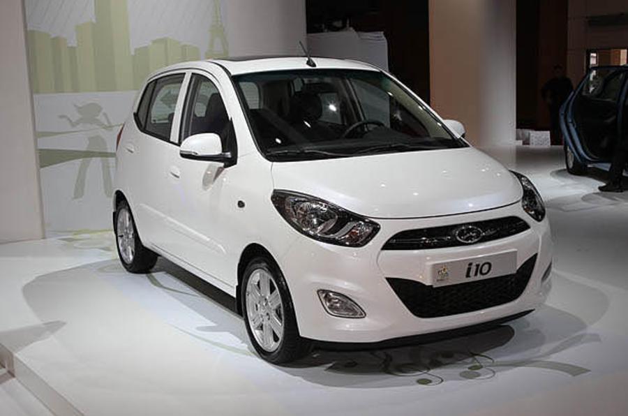 Paris motor show: Hyundai i10 facelift