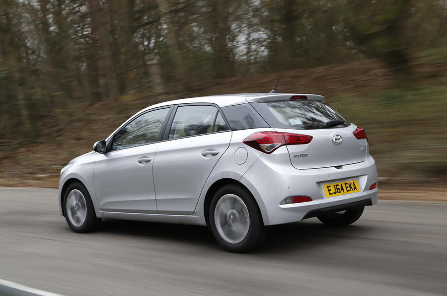 Hyundai i20 rear quarter