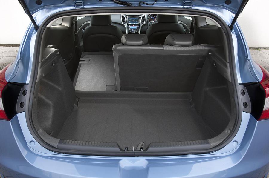 Hyundai i30 seating flexibility