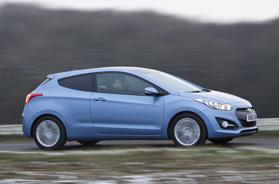 Hyundai i30 1.6 CRDi 3dr first drive review
