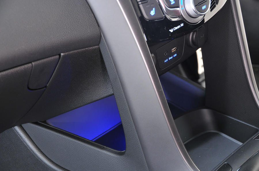 Hyundai i30 Turbo centre console