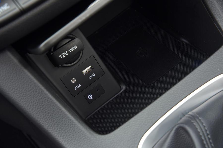 Hyundai i30 multimedia ports