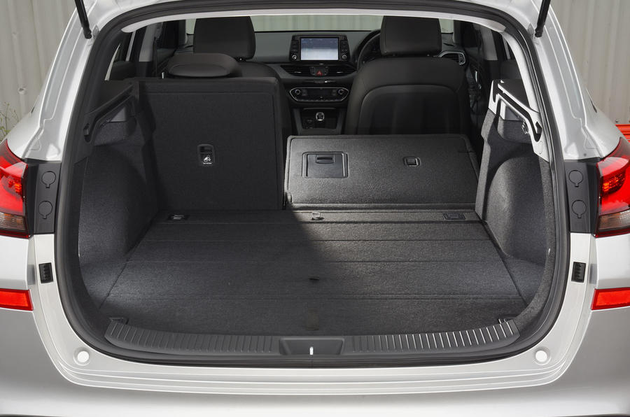 Hyundai i30 seating flexibility
