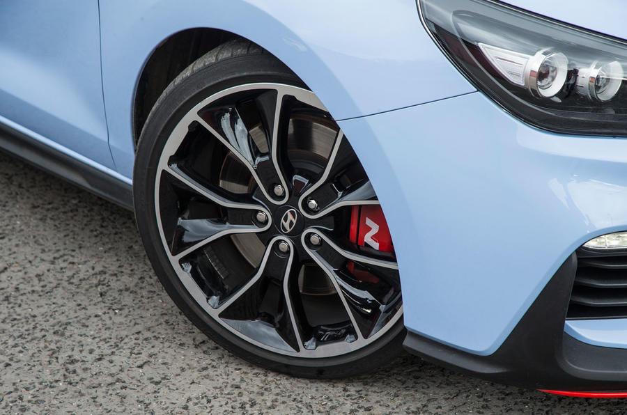Hyundai i30 N alloy wheels