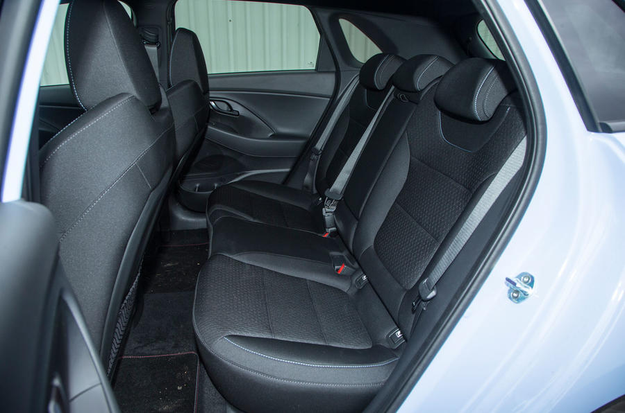 Hyundai i30 N rear seats