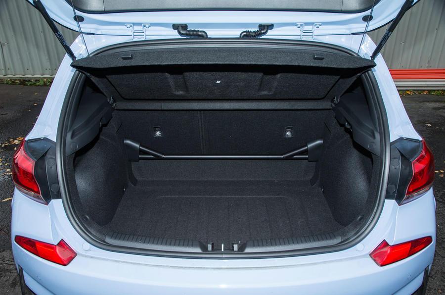 Hyundai i30 N boot space