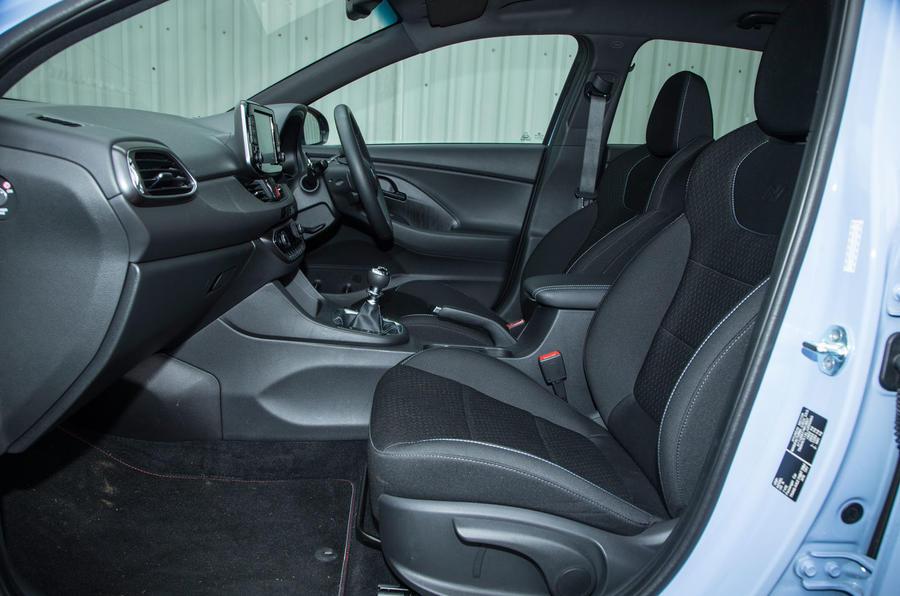 Hyundai i30 N front seats