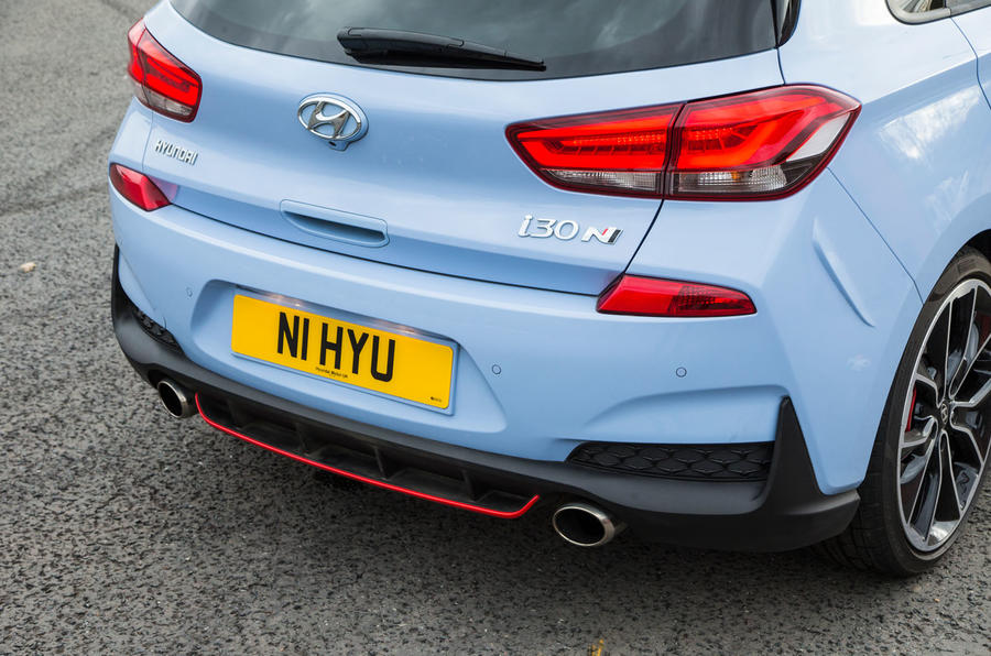 Hyundai i30 N rear end