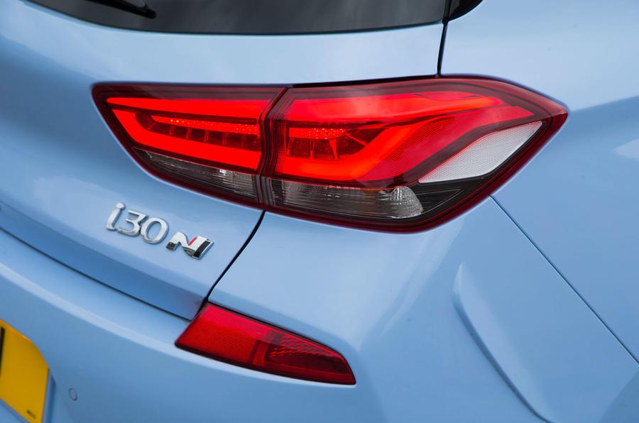 Hyundai i30 N rear light