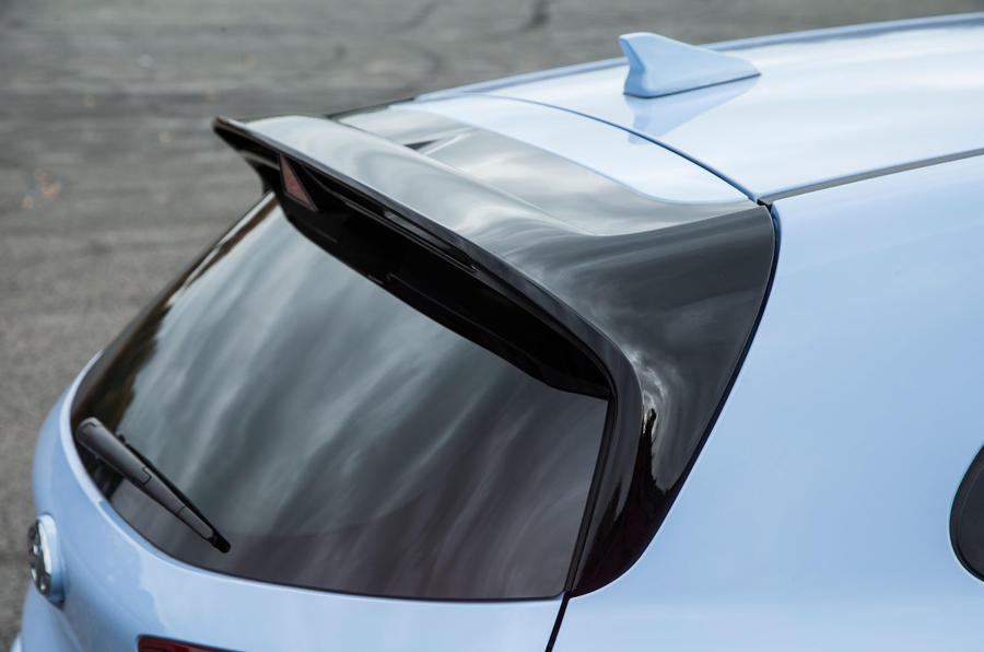 Hyundai i30 N rear spoiler