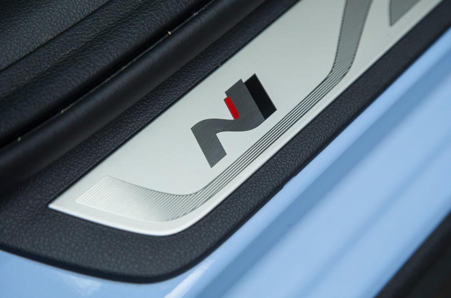 Hyundai i30 N scuff plates