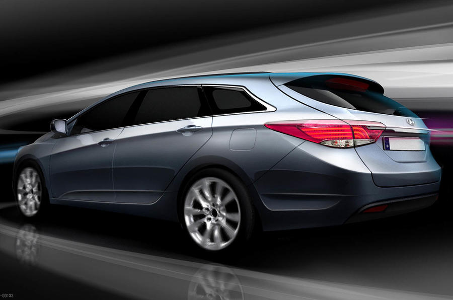 Hyundai reveals i40 sketches