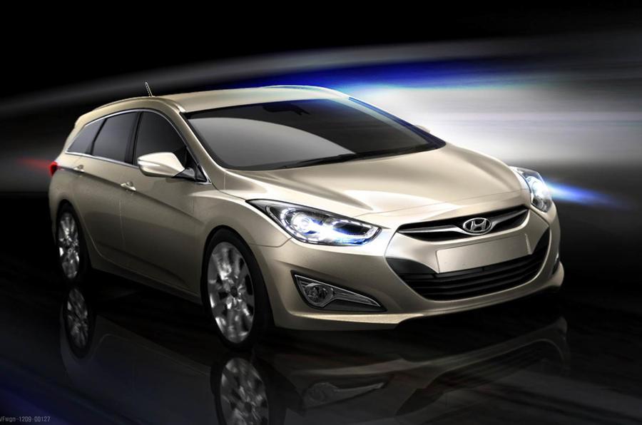 Hyundai reveals i40 sketches | Autocar