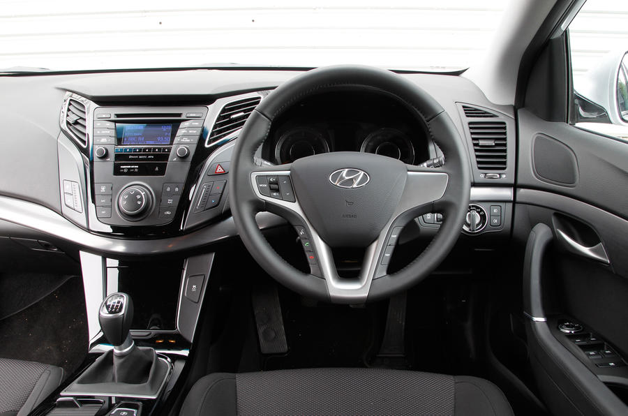 Hyundai i40 Tourer dashboard