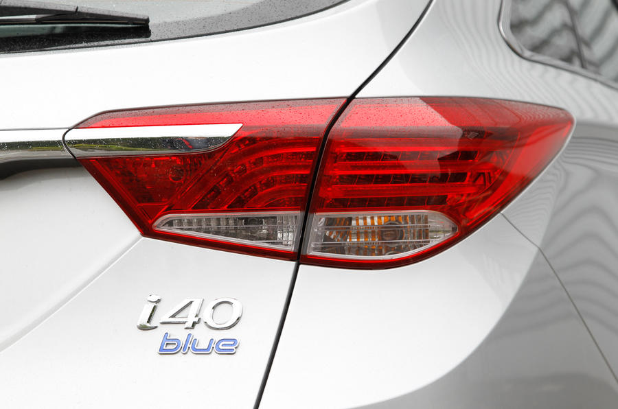 Hyundai i40 Tourer rear light