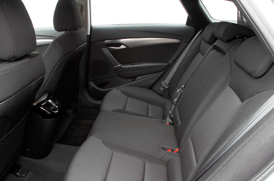 Hyundai i40 Tourer rear seats