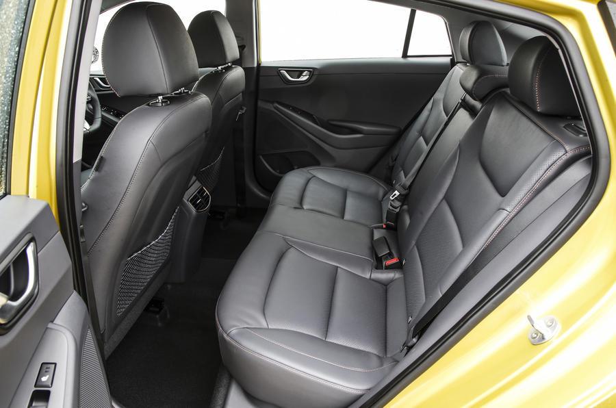 Hyundai Ioniq rear seats