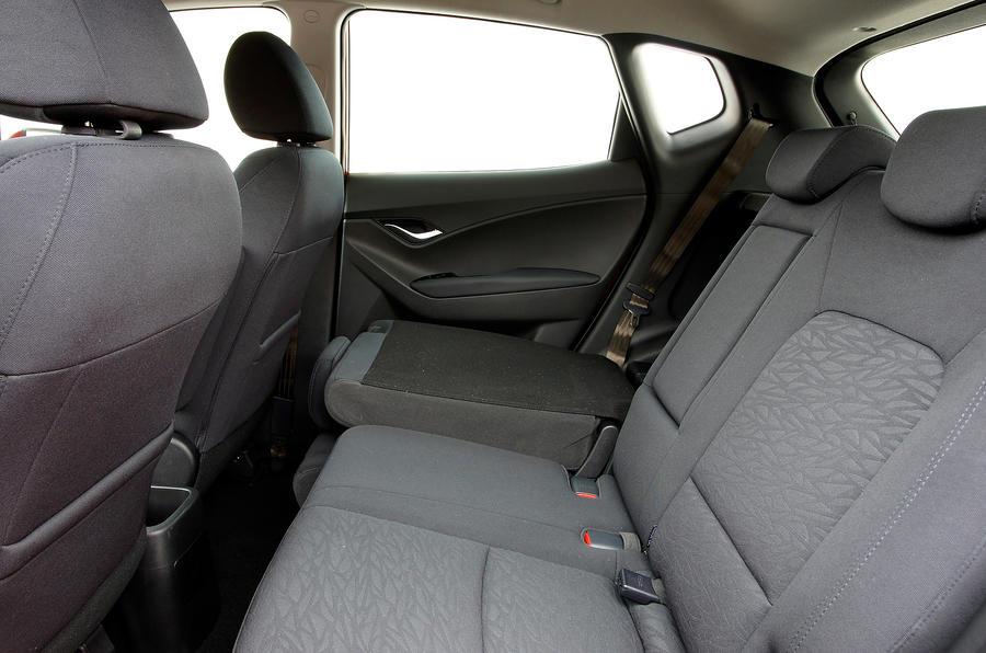 Hyundai ix20 rear seats