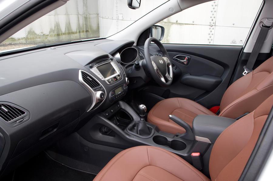 Hyundai ix35 front seats