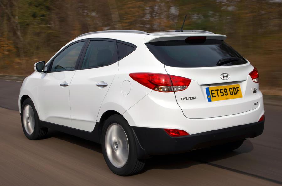 Hyundai ix35 rear quarter