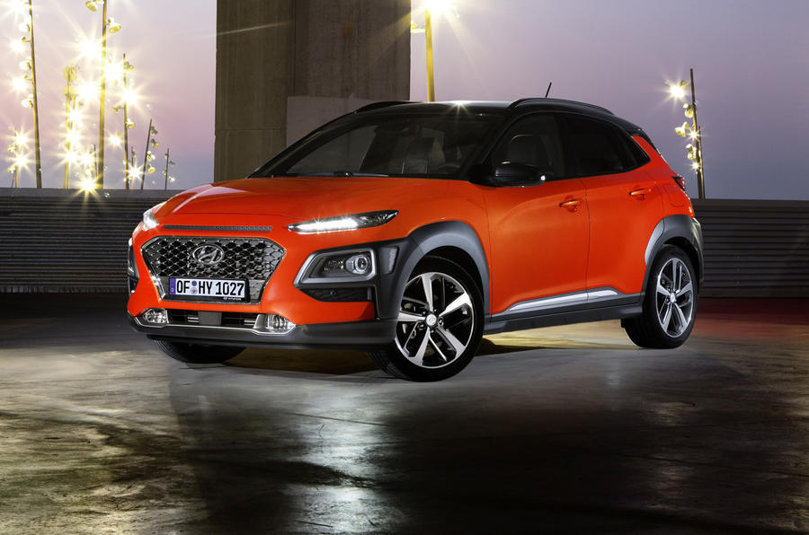hyundai kona review 2018 autocar. Black Bedroom Furniture Sets. Home Design Ideas