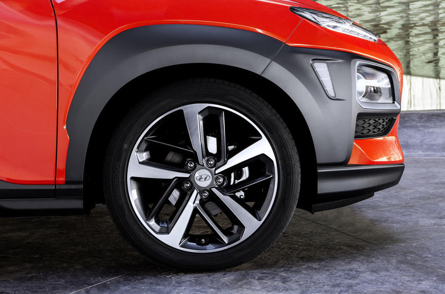 Hyundai Kona alloy wheels