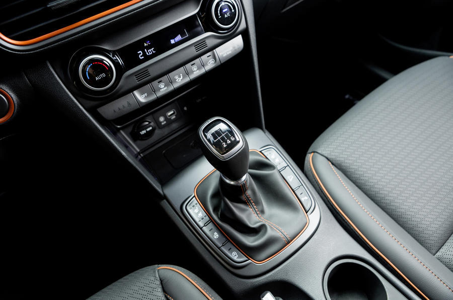 Hyundai Kona manual gearbox