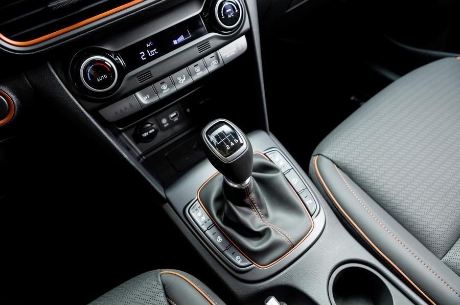 Hyundai Kona manual gearbox