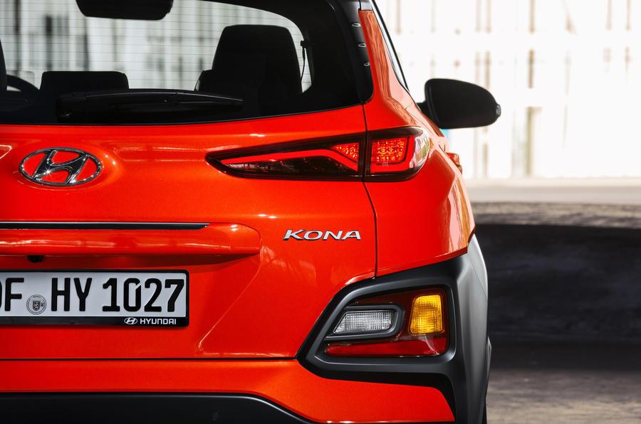 Hyundai Kona rear lights