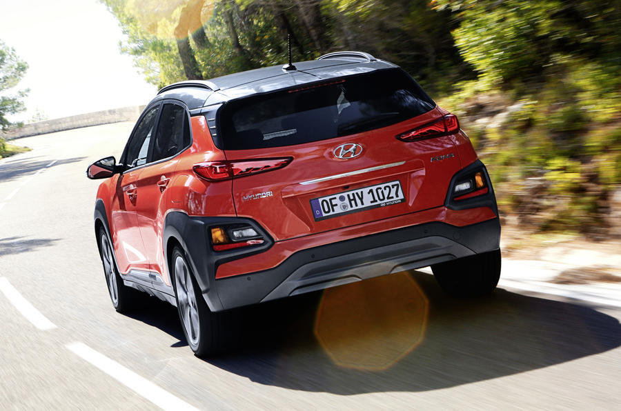 hyundai kona review 2019 autocar. Black Bedroom Furniture Sets. Home Design Ideas