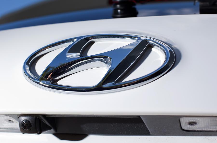 Hyundai badging