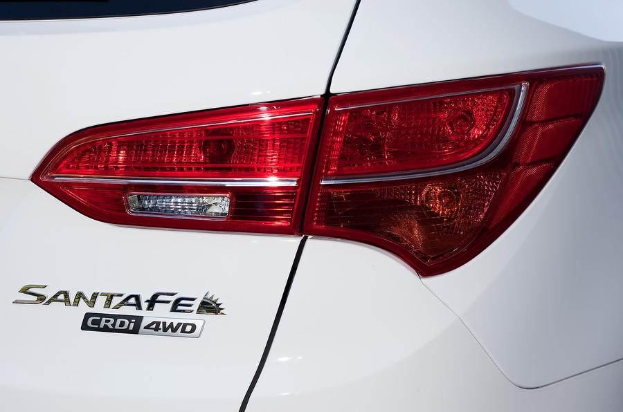Hyundai Santa Fe rear light