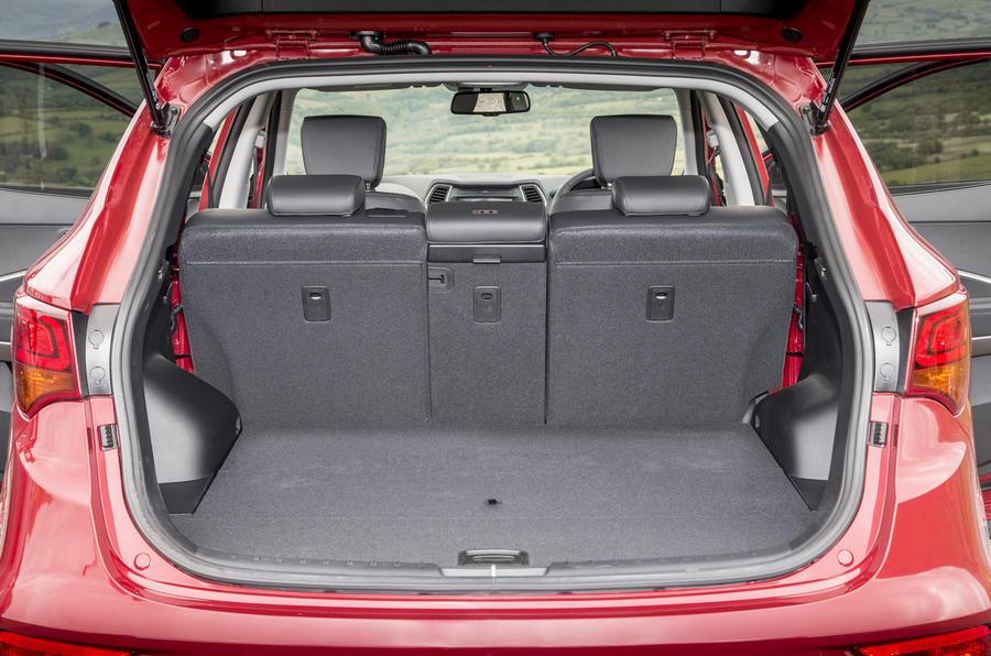 Hyundai Santa Fe Interior Autocar
