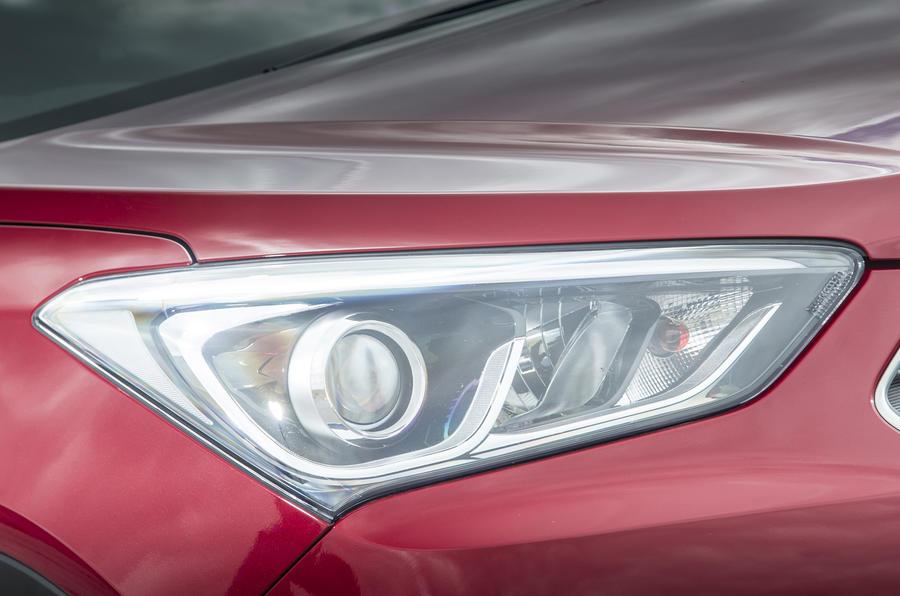 Hyundai Santa Fé headlights