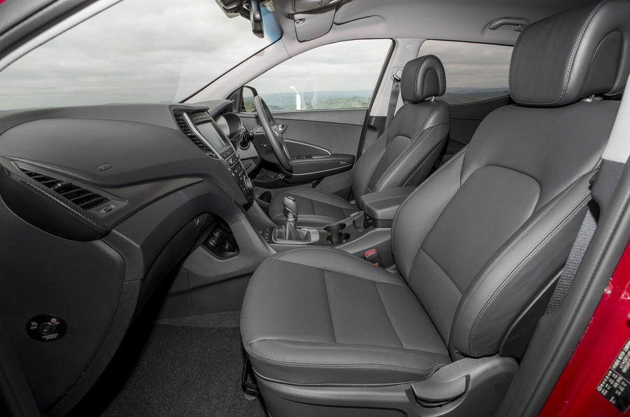 ... Hyundai Santa Fé Interior ...