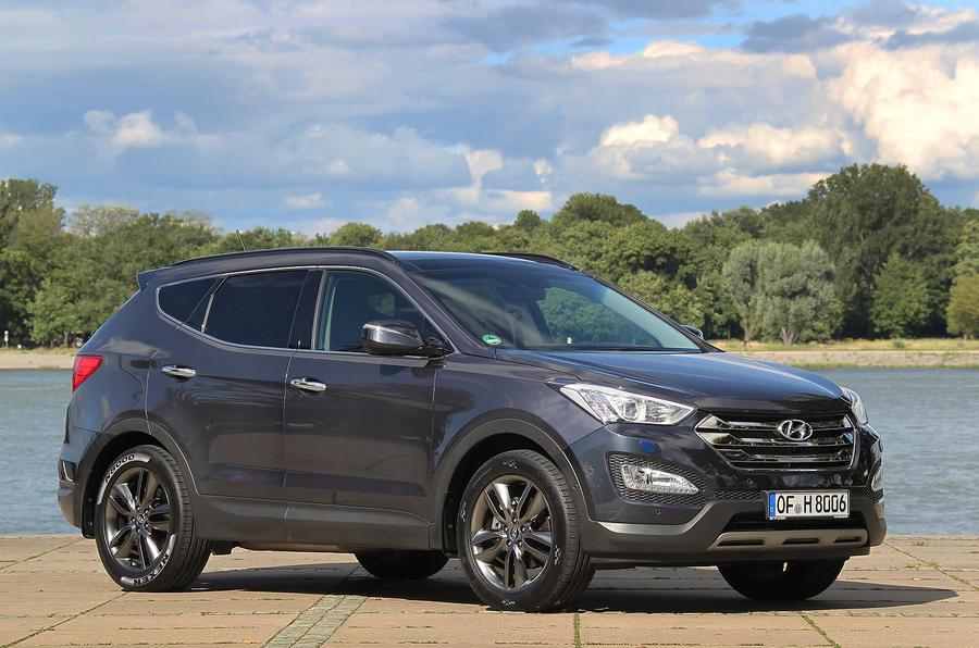 £25,495 Hyundai Santa Fe