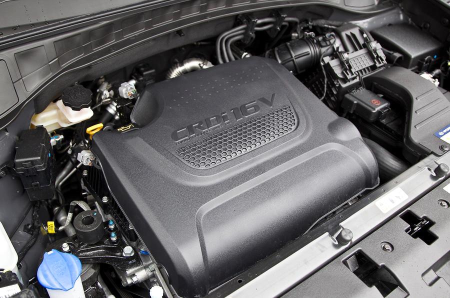 2.2-litre Hyundai Santa Fe diesel engine