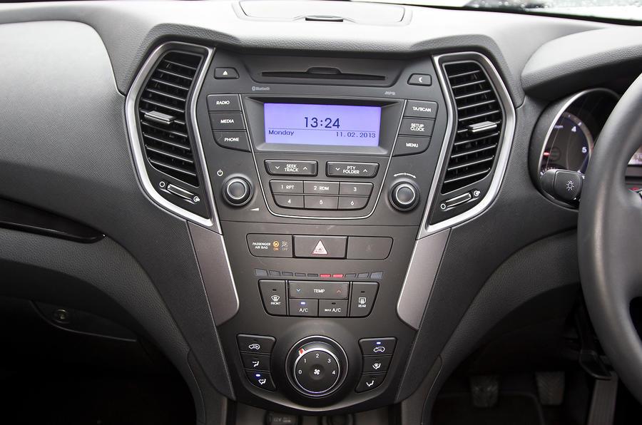 Hyundai Santa Fe centre console