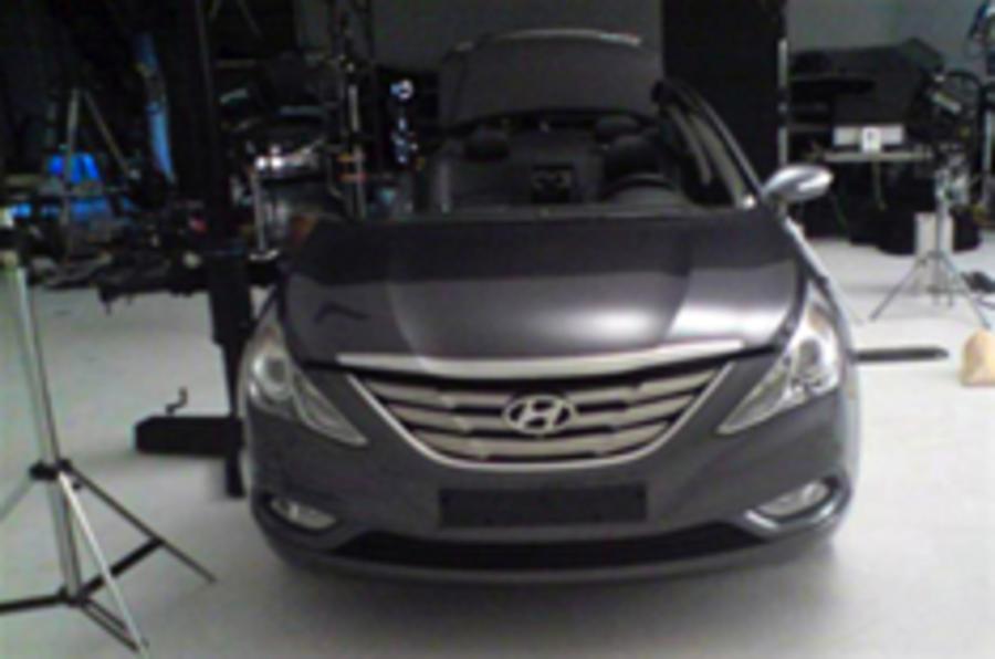 Next Hyundai Sonata leaks out
