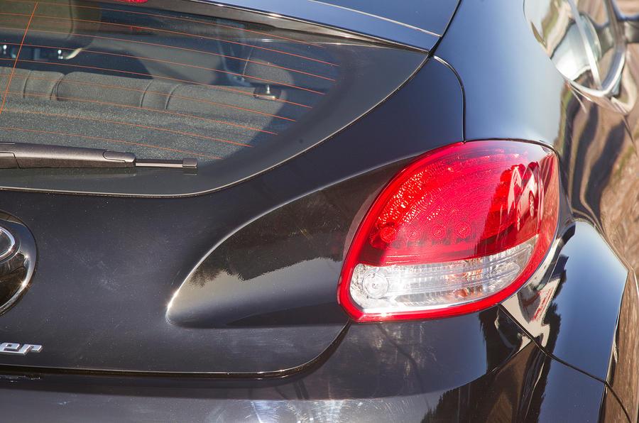Hyundai Veloster rear light