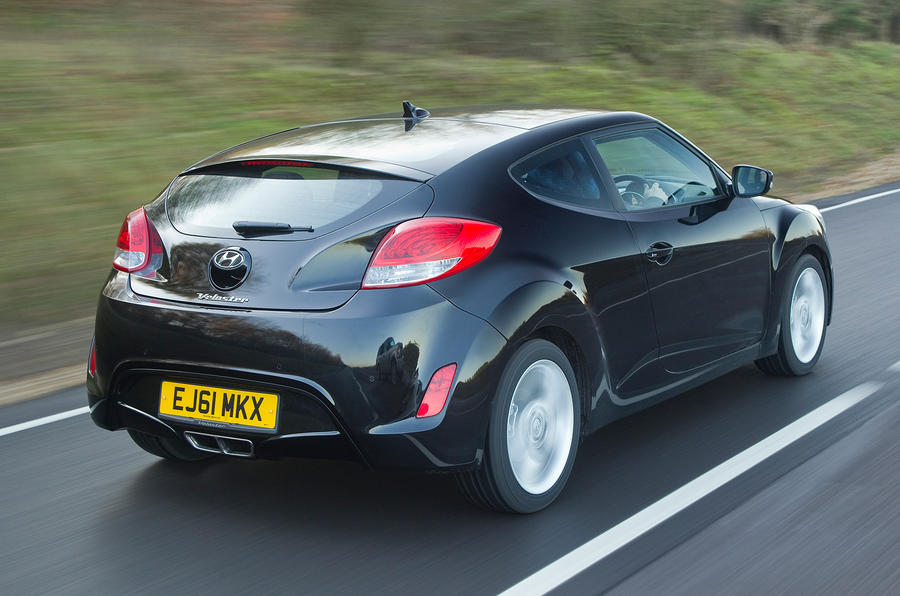 The 138bhp Hyundai Veloster