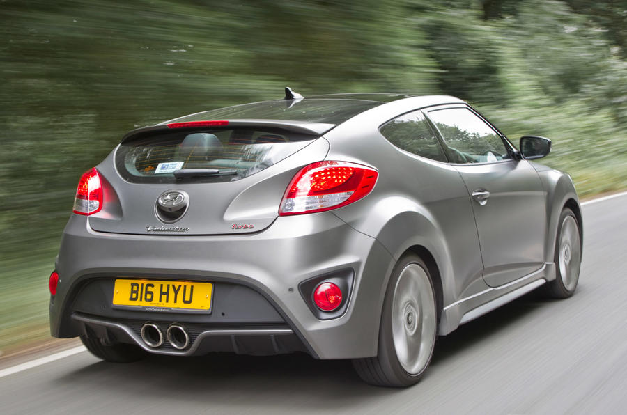 Hyundai Veloster Turbo rear