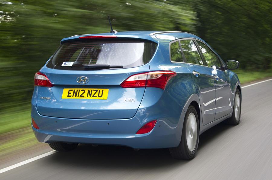 Hyundai i30 Tourer rear