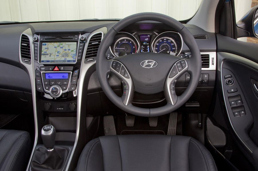 Hyundai i30 Tourer dashboard
