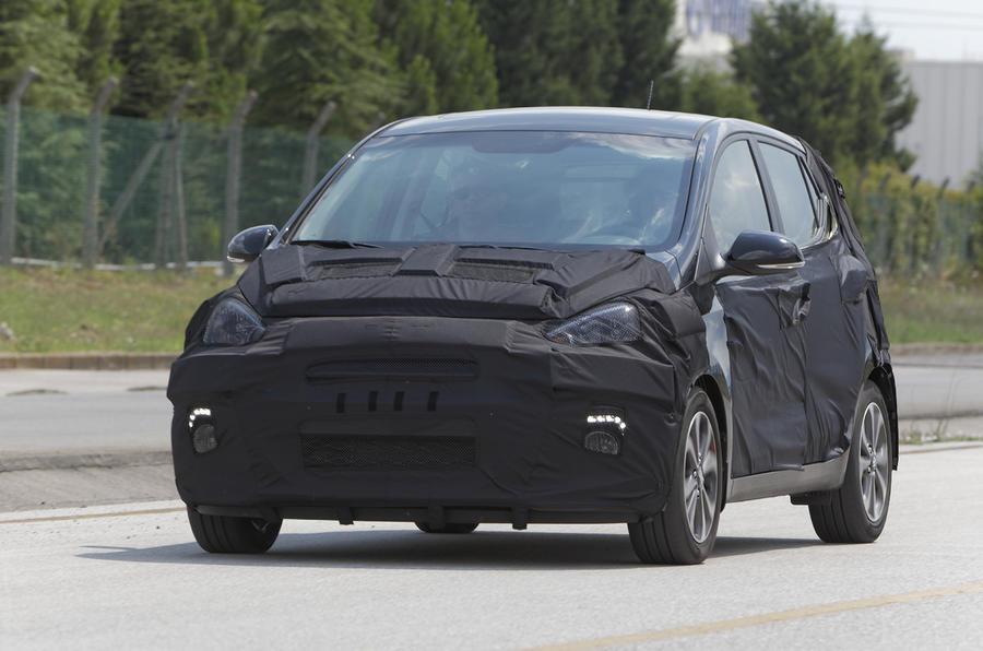 Hyundai i10 1.0-litre prototype