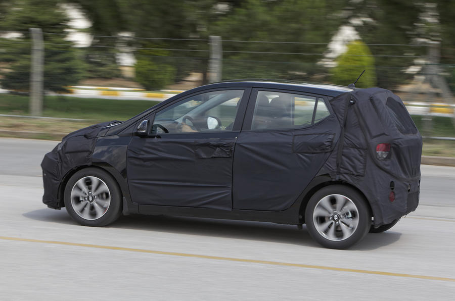 95mph Hyundai i10 1.0-litre prototype